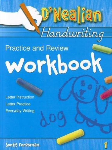 Download D Nealian Handwriting: Practice And Reivew Level 1 067357637X