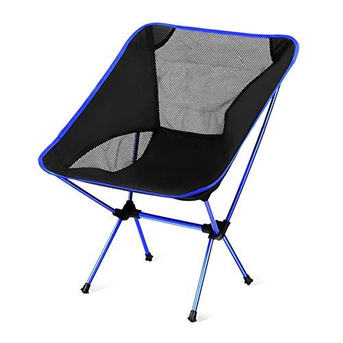 アウトドアチェア FDLH 折りたたみ椅子 軽量 コンパクト 背もたれ 耐荷重約150kg 超軽量 収納バッグ付き アルミチェア ツーリング キャンプ 登山 釣り バイク ハンモック トレッキング
