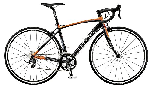 LOUIS GARNEAU(ルイガノ)  ロードバイク LGS-CEN COMP 420mm 2015年モデル マットブラック×マットオレンジ 15LG-CNMP-05