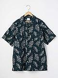 (コーエン) COEN ボタニカルプリントオープンカラーシャツ 75156009018 7990 NAVY(79) X-LARGE