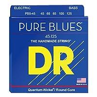 DR PURE BLUES PB5-45 5 STRING MEDIUM 5弦エレキベース弦×2セット