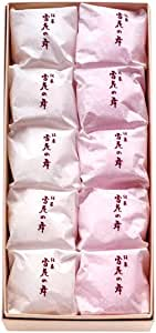 【名古屋名物】美濃忠 雪花の舞(10個入り) 8681