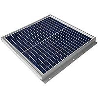 【 GWSOLAR 15W 薄型 2.5cm 】太陽光パネル、12vシステム 蓄電/キャンピングカー充電に最適、表面取付穴6個、ソーラーパネル表面から簡単に設置 、ケーブル付属、逆流防止ダイオード付き GWソーラー(GW-015H)(15W)