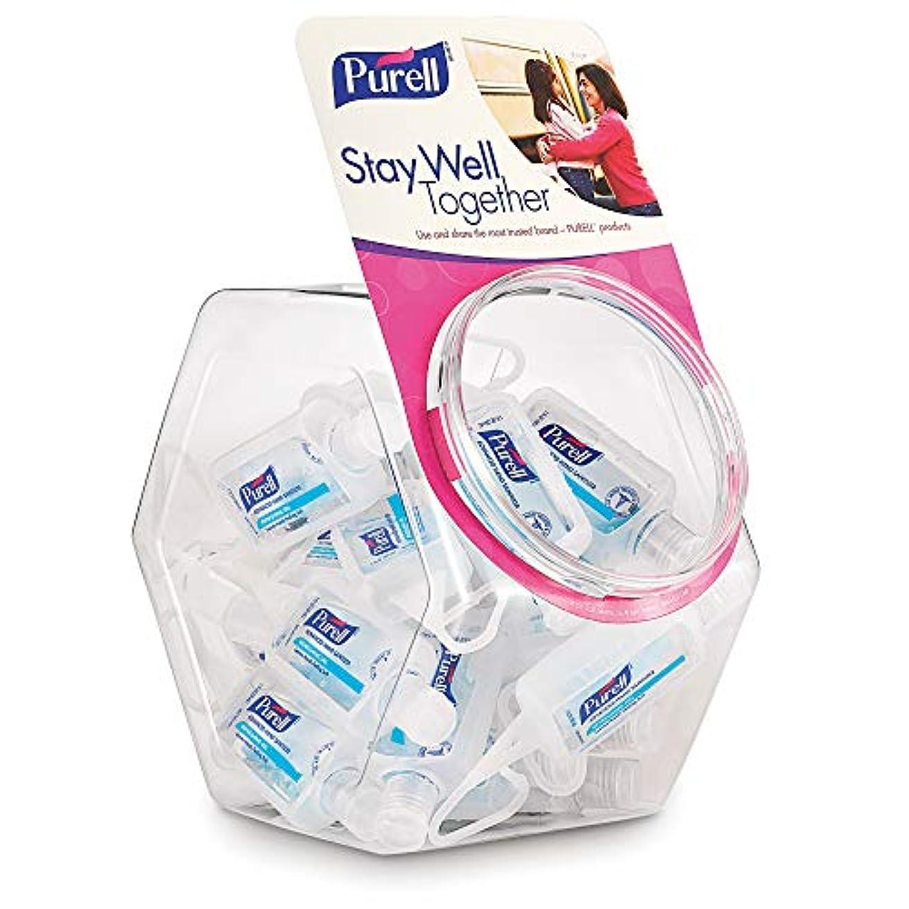 故国無駄なよろめくPURELL 3900-25-BWL GOJ390025BWL Advanced Instant Hand Sanitizer Gel, Jelly Wrap Bracelet,1 oz. by Purell