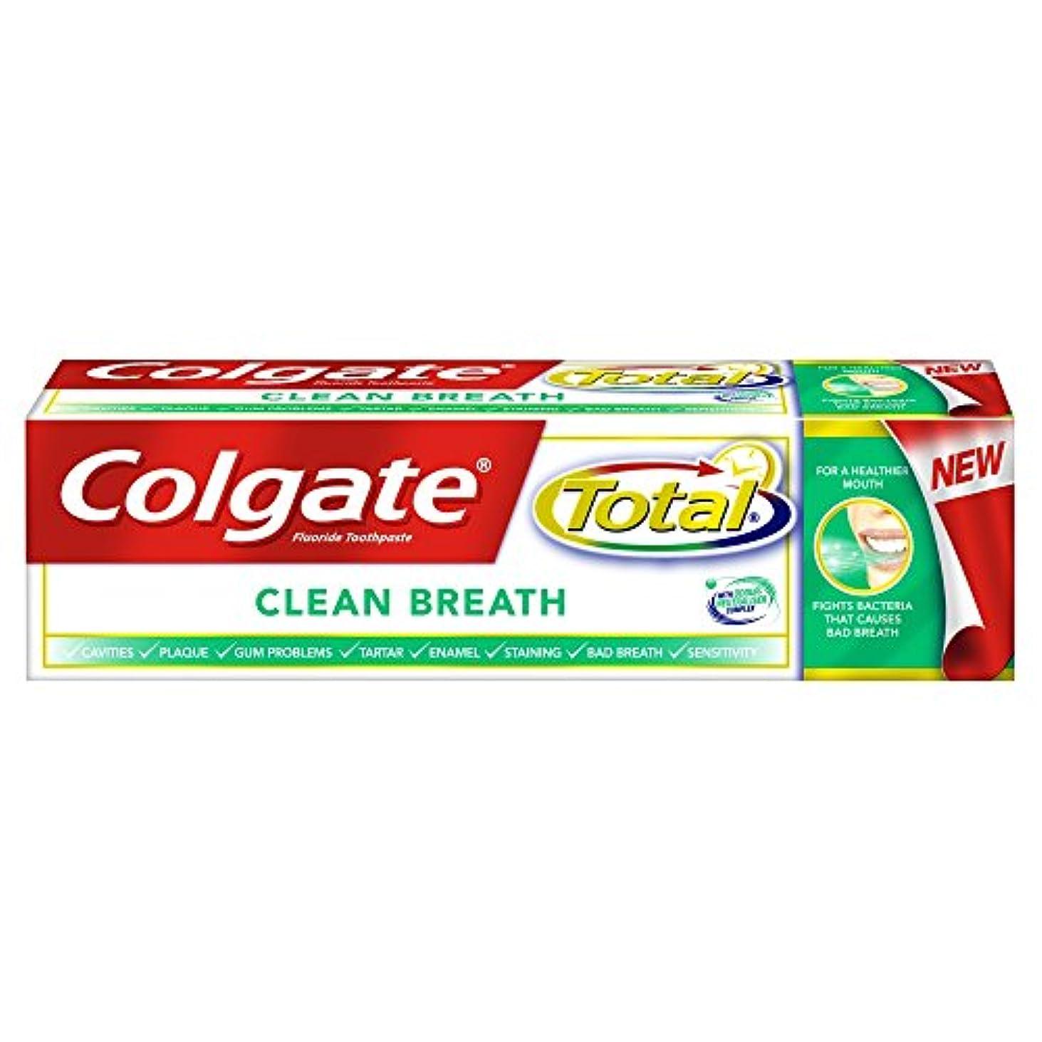[Colgate ] コルゲートトータルプレミアムクリーン息歯磨き粉75ミリリットル - Colgate Total Premium Clean Breath Toothpaste 75Ml [並行輸入品]