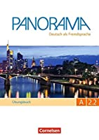 Panorama in Teilbanden: Ubungsbuch DaF A2.2 mit Audio-CD