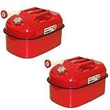 ガソリン携行缶 20L×2個セット [消防法適合品]/亜鉛メッキ鋼板