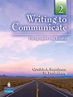 Writing to Communicate Level 2 Student Book