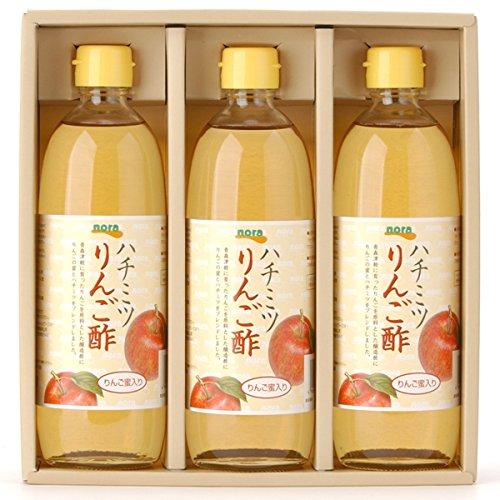 nora ハチミツりんご酢セット NV-33【送料込】