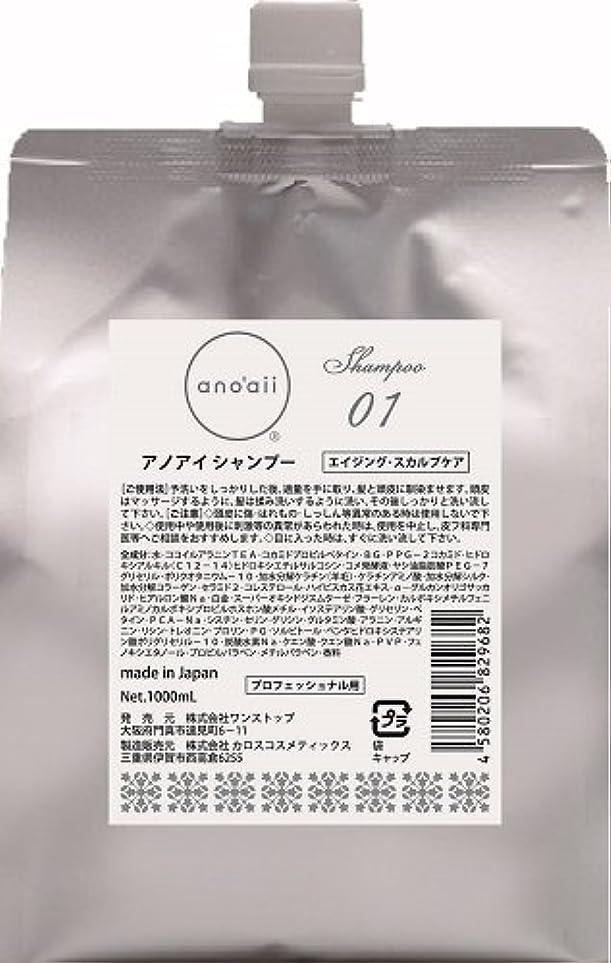 作成する多様な何十人もanoaii (アノアイ) エイジングスカルプシャンプー 1000ml レフィル