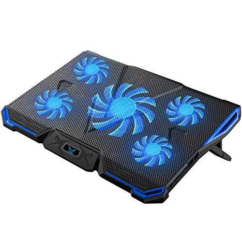 Wsky 冷却パッド ノートパソコン冷却ファン ノートPCク...