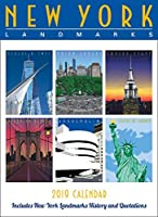 New York Landmarks Wall Calendar 2019 [並行輸入品]