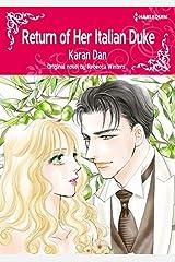 Return Of Her Italian Duke: Harlequin comics Kindle Edition