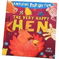 blesiya Reading for preschool -3d Pop Up Book – ヘルプキッズ幼児動物認知( Hen )