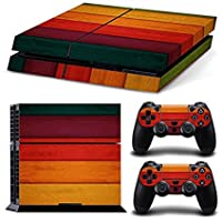 Linyuan 安定した品質 Full Body Decal Skin Sticker F PlayStation4 PS4 Console+Controllers