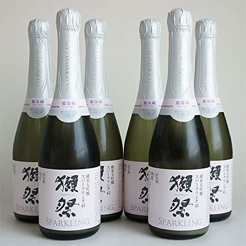 獺祭 発泡スパークリング 45 720mlx6本 純米大吟醸 だっさい 旭酒造 山口県