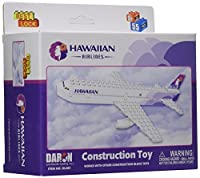 Hawaiian Airlines 55 pc Construction Block Kit [並行輸入品]