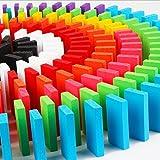 Sarsaparilla ドミノ 倒し ゲーム 木製 おもちゃ カラフル 積み木にも 44×21×7mm (12色×1000個セット)