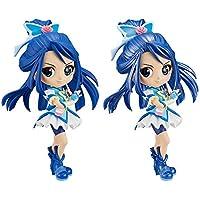 Yes!プリキュア5GoGo! Q posket-CureAqua- キュアアクア 全2種セット(通常カラーVer.+レアカラーVer.)