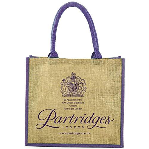 Partridges パートリッジ エコバッグ (ロープハンドル) イギリス[並行輸入]