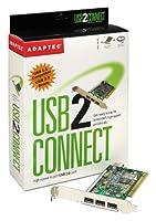 Adaptec AUA-3100LP USB 2.0 4 Port Card [並行輸入品]