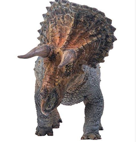 PNSO 恐竜大王 知識バーション トリケラトプス ダイナソー 恐竜フィギュア 動物 標本、剥製へ挑む リアルさと還元度追求したフィギュア