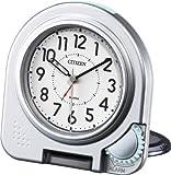 CITIZEN ( シチズン ) 目覚まし 時計 アブロード962A 旅行 用 携帯 トラベル クロック シルバー 4GE962-A19