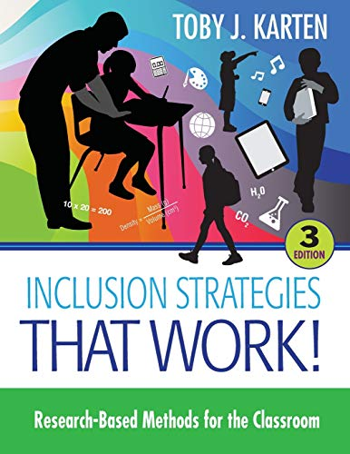 Download Inclusion Strategies That Work!: Research-Based Methods for the Classroom (NULL) 1483319903