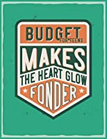 Budget For Teens: Monthly Budget Tracking with Guide with List of Income , Monthly - Weekly Expenses and Monthly Bill Organizer (vintage classics)