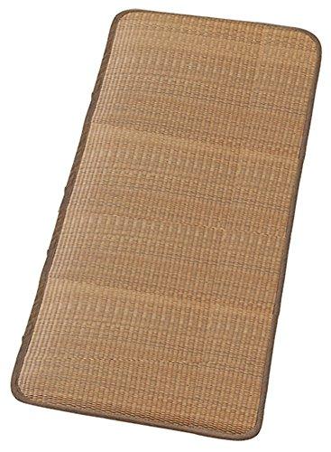 大島屋 マットレス イ草 マットレス 与那国 い草 ブラウン 約80×180cm