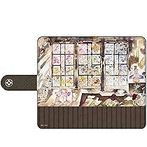 HAKUBA キャラモード 鹿楓堂よついろ日和 水彩画C 手帳型マルチスマートフォンケース カード収納 iPhone & Android 両対応 4977187196757 PA-SPC6757