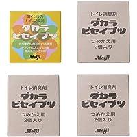 微生物消臭剤 ダカラビセイブツ ケース入り1個&つめかえ用6個(2個入り1箱×3)セット