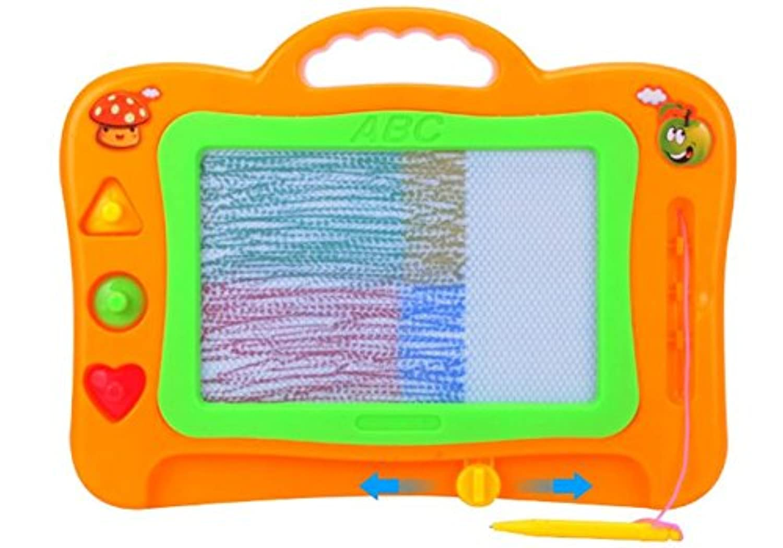 HuaQingPiJu-JP 描画ボード、消去可能なカラフルな落書き描画ボード子供のためのおもちゃスケッチパッドを書く