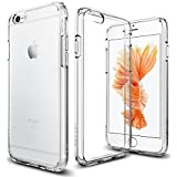【Spigen】iPhone6S ケース / iPhone6 ケース ウルトラ・ハイブリッド 米軍MIL規格取得 (クリスタル・クリア SGP11598)