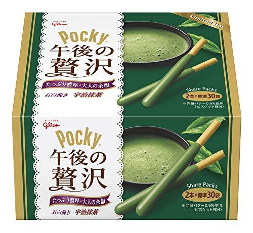 江崎グリコ ポッキー午後の贅沢(宇治抹茶) 大容量ボックス 30袋