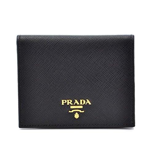 PRADA(プラダ) サフィアーノ 財布 二つ折り レディー...