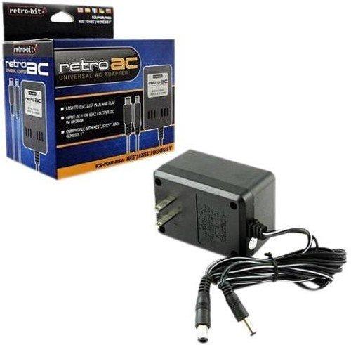 Retro Bit Universal 3 in 1 AC Adapter NES/SNES/GENESIS (輸入版)