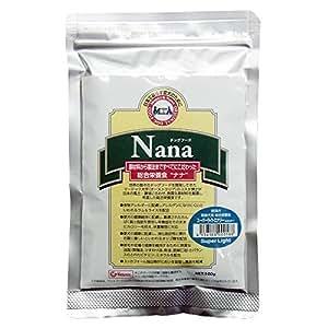 総合栄養食 ナナ(Nana) スーパーライトエナジー お試しサイズ100g(代謝エネルギー260kcal / 100g)肥満犬・高齢犬用 低カロリーでダイエットに最適 ラム&ライス 糞臭軽減 [ドックフード]