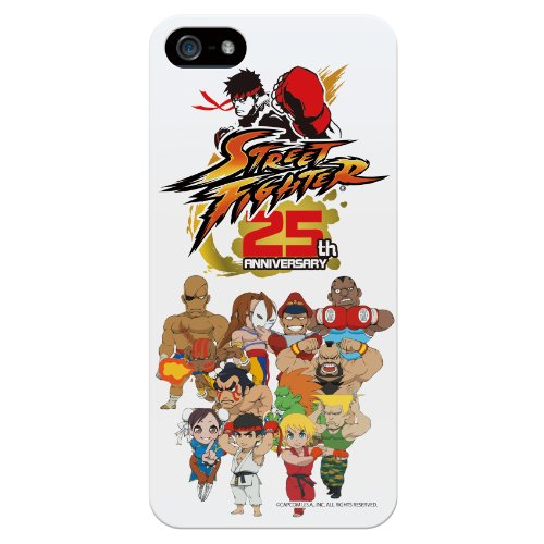 Bluevision iPhone 5s/5用ケース StreetFighter 25th Anniversary for iPhone 5s/5 Chibi-Chara BV-SF25TH-CHIBI