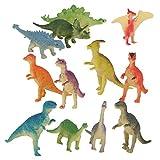 SKYCER 12pcs 恐竜モデル 人気動物のフィギュア 恐竜セット アニマル 爬虫類 おもちゃ モデル