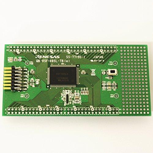 ルネサスエレクトロニクス CPU board for RL78/G13(129-pin/ROM512KB) 【QB-R5F100SL-TB】