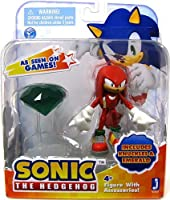 Sonic: 3-Inch Action Figures with Accessories - Knuckles with Emerald by Other Manufacturer