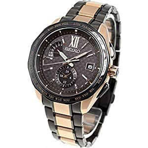 [ブライツ]BRIGHTZ 腕時計BRIGHTZ ソーラー電波 2019限定 限定800本 チタンモデル デュアルタイム ブラックスワロフスキー??入りブラウン文字盤 サファイアガラス SAGA270 メンズ