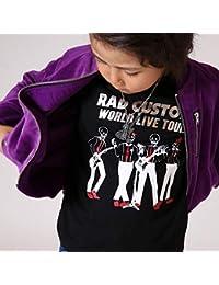 ラッドカスタム(RAD CUSTOM) 【カタログ掲載】天竺スカルツアープリントTシャツ