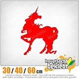 unicorn - 3つのサイズで利用できます 15色 - ネオン+クロム! ステッカービニールオートバイ