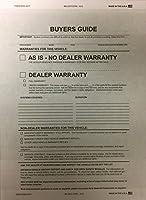 Buyers Guide–2パーツ# 8255–2017