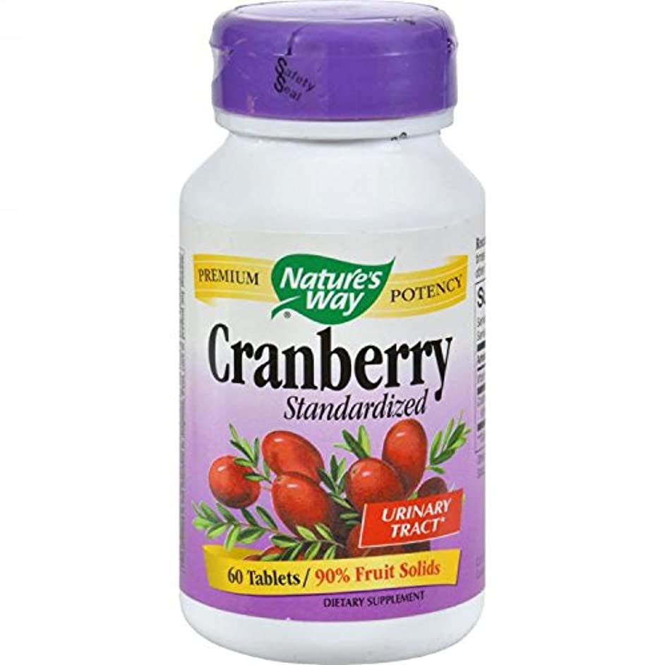 印象的各クリスマスNature's Way Cranberry Tablets, 60-Count by Nature's Way