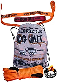 BOG OUT Single PRO PACK BOG OUT Vehicle Recovery Kit - TURNS WHEELS INTO WINCHES - 7T Twin Pack - 2 x BOG OUT + 1 x 15mtr Su