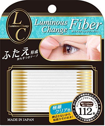 ビー・エヌ ルミナスチェンジ ファイバーテープ クリア LCF-01(112本入)