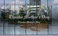 ウィンドゥカッティングシール「Thanks Mother's Day(Go57)/小」